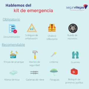 kit de emergencia auto, santander torrelavega cantabria