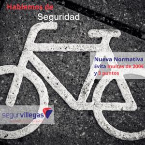 Nueva normativa bicicleta, santander torrelavega cantabria