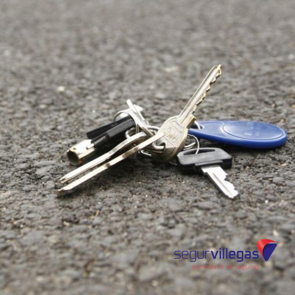 He perdido las llaves de casa, ¿mi seguro de hogar lo cubre?