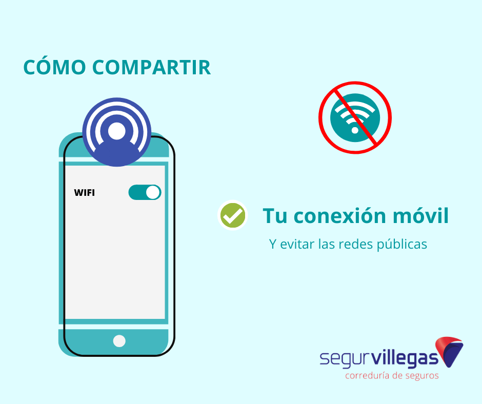 como compartir tu conexión móvil