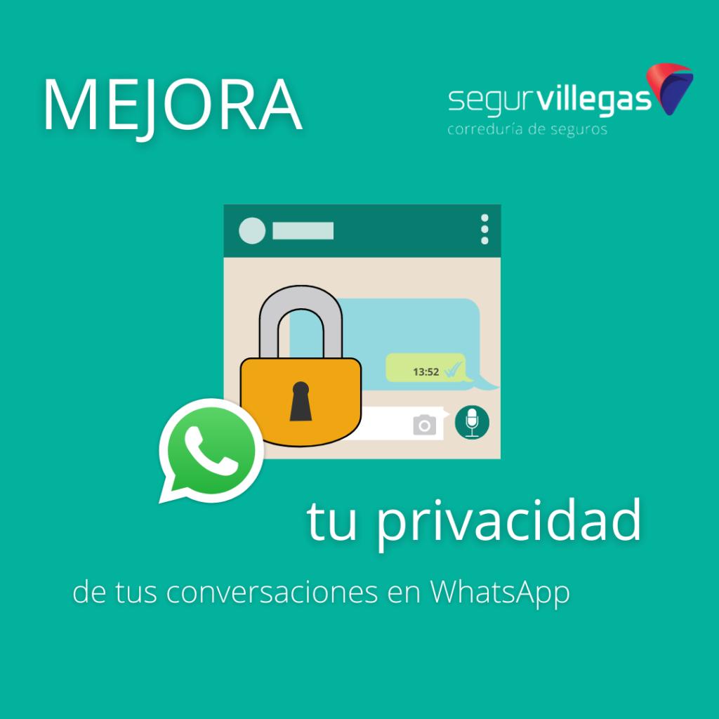 mejora la privacidad en whatsApp